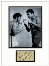 Jimmy Ellis Autograph Signed Display